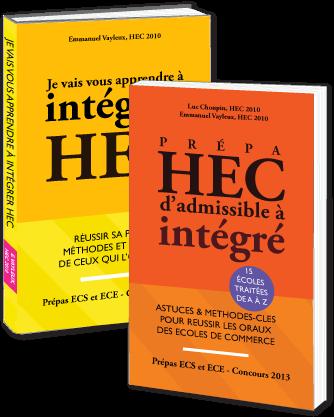 Intégrer HEC - livraison à l'international